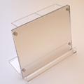 第2位:置い手帳台(アクリル製 ミラー付)|アイデア商品 通販 おもしろグッズ